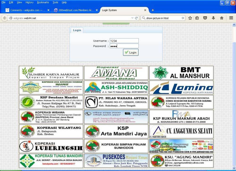 Gratis Aplikasi KSP Online Berbasis Web (1/6)