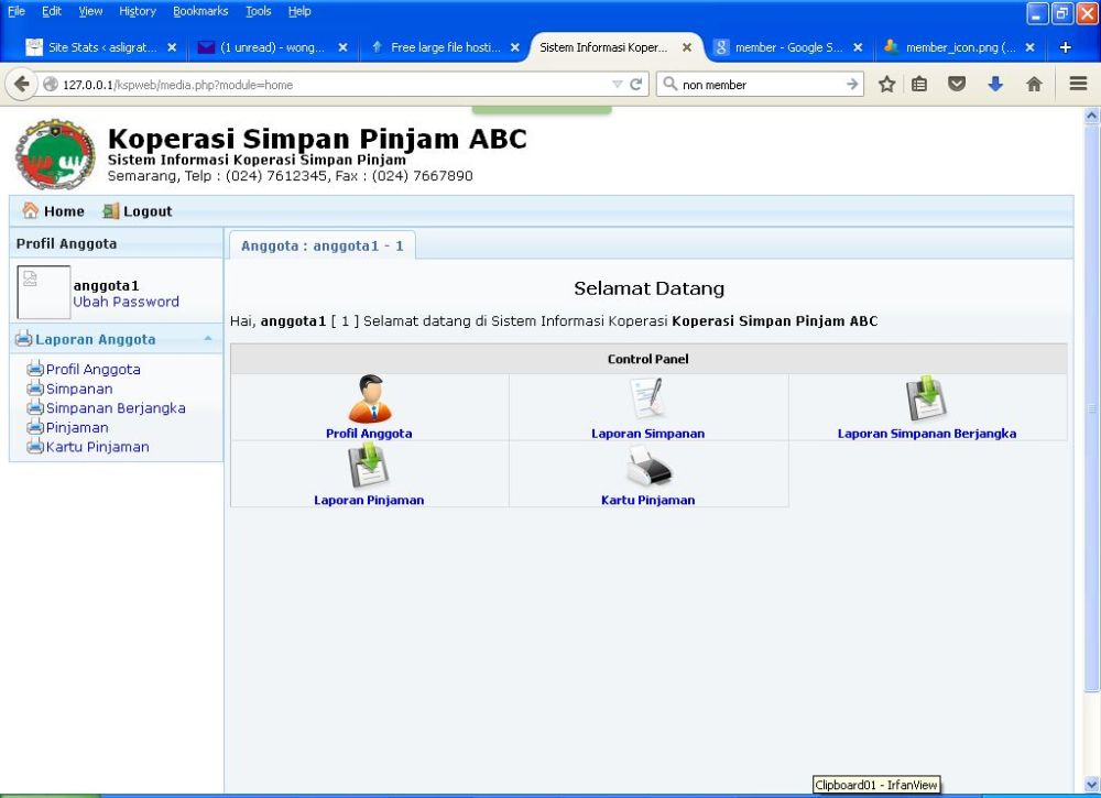 Segera Aplikasi Gratis KSP Online Berbasis Web v.2 (2/5)
