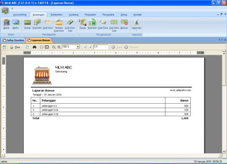 jual software multi level marketing