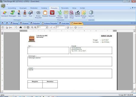 Jual Software Toko Bunga